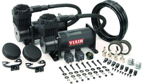 2 Kompresory VIAIR 444C Black - DUAL PACK - GRUBYGARAGE - Sklep Tuningowy